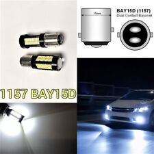 Brake Light 1157 2057 3496 7528 BAY15D 108 SMD 6K White LED Bulb B1 #12 For GM