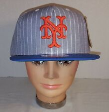 NEW AMERICAN NEEDLE NEW YORK METS DEMO STRAP BACK BASEBALL CAP HAT