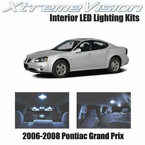 XtremeVision Interior LED for Pontiac Grand Prix 2006-2008 (8 PCS) Cool White