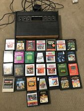 Atari 2600 Heavy Sixer With 30 Games | Tested And Working!