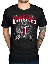 Official Hatebreed Skull And Maces T-Shirt Driven By Suffering Venom Nightmare