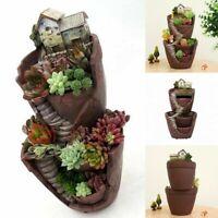Creative Fairy House Garden Pot Mini Succulent Bonsai Plant Garden Decoration
