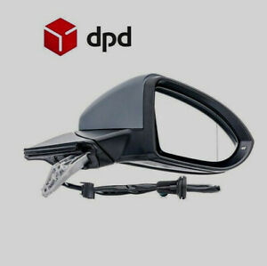 Vw Golf MK7  2013-2017 Heated Wing Mirror Electric Right Side Drivers Side