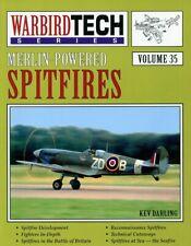 Merlin-Powered Spitfires Warbird Tech Series  Volume #35