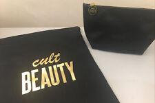 CULT Beauty Duo-TRUCCHI E Pouch Nero e Oro New Authentic