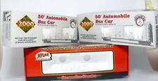 LIFE-LIKE PROTO 2000 H0 Leerkarton 30304 und 30310 + ATLAS leerkarton 1158-3