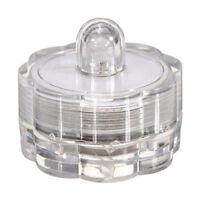 Led Kerze flackernd Teelicht LED Wachs Kerzen Teelichter Party Deko Wasserd G6L6
