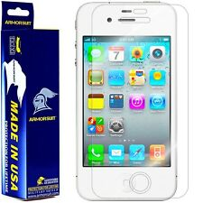 ArmorSuit MilitaryShield White Apple iPhone 4S Screen Protector *NEW*!