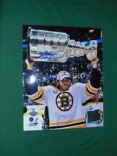 Boston Bruins Adam McQuaid  Autographed 8x10 Stanley Cup Photo