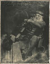 Mercer Raceabout Santa Claus HENDRICKSON PHOTO 11x14 B&W Signed Original  M195