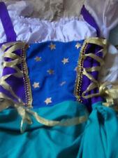Girls Gypsy Princess Costume Dress, Jr. S/M 10-12
