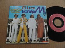 "DISQUE  45T DE BONEY M  "" EL LUTE """