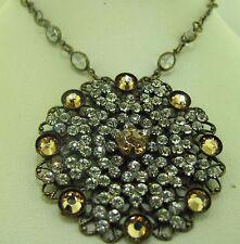 Sorrelli Amareto Necklace NBP35AGAMA Antique gold tone