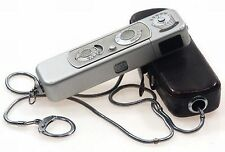SPY CAMERA MINOX B LEATHER CASE CHAIN COMPLAN 1:3.5/15