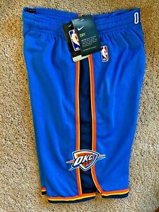 Nike Athletic Shorts Oklahoma City Thunder NBA Basketball Size Boys L 14 16 NWT