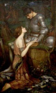 John William Waterhouse Lamia Giclee Canvas Print Paintings Poster LARGE SIZE