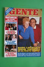 GENTE 3/1988 BARBARA DE ROSSI RACHEL WARD RICHARD CHAMBERLAIN GLORIA GUIDA GOGGI