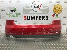 AUDI A4 2016 - ONWARDS GENUINE B9 S LINE REAR BUMPER + DIFFUSER P/N: 8W5807511J