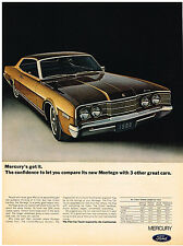 Vintage 1968 Magazine Ad Mercury Montego Is Inspired By The Continental