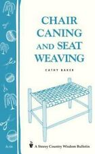 Chair Caning and Seat Weaving book~DIY How-to~NEW! wicker rattan furniture