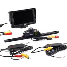 "Waterproof Car Rear View System Wireless Backup Camera with 4.3"" TFT LCD Monitor"