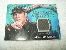 Stargate Atlantis Costume Card Acastus Kolya