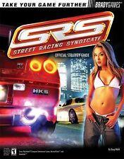 SRS Street Racing Syndicate BradyGames PS2 Xbox Nintendo GameCube