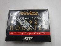 Pinnacle Major League Baseball 1992 Rookies Score Set Sealed jh39