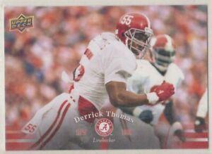 2012 Upper Deck Alabama Football Derrick Thomas #50