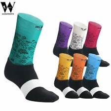 Pro Cycling Compression Socks Anti-Sweat Anti-Slip Elastic Hiking Sports Socks