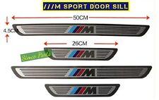 Steel Door Sill Scuff Protectors BMW M Sports X1 X3 X5 X6 Series 2007-15