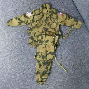 21st Century US WWII 1/6 Camo AIRBORNE Uniforms for 12'' Ultimate Soldier Figure