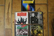 5 cd   BEETHOVEN/SCHUBERT/TCHAIKOVSKI/SAINT SAENS/STRAUSS