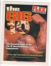 FLEX Bodybuilding Supplement The Big 10 Muscle building supplement guide