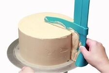 Craft Height Adjustable Decorating Scraper Smoother Cake DIY Tool  Blue