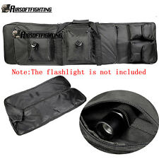 Tactical Large Rifle Shotgun Gun Bag 100cm/40inch for Hunting Airsoft BB Guns BK