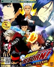 DVD Katekyo Hitman Reborn Vol. 1 - 203 End +  Express Shipping to USA