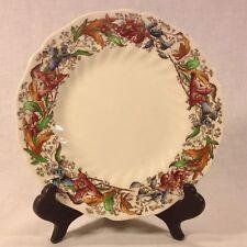 "Vintage Royal Doulton ""Tintern"" D.5609 Orchids Pattern Dinner Plate"