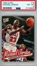 Michael Jordan 1996 Ultra #16 PSA 8