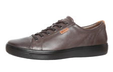 ECCO Men's Brown Leather Sneakers 2554 Size 43 EU