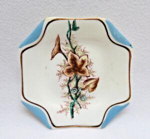 Antique S. B. & Son England Aesthetic Porcelain Butter Pat  #3