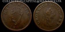 Irlande 1/2 Penny BR. 1805 Georgius III.D.G.REX.