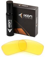 Polarized IKON Replacement Lenses For Oakley Crankcase Sunglasses HD Yellow
