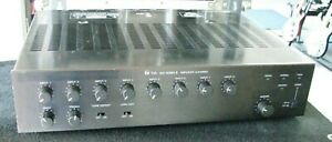 TOA 900 Series II 8 Channel Modular Mixer Power Amplifier A-912MK2 w/ Modules