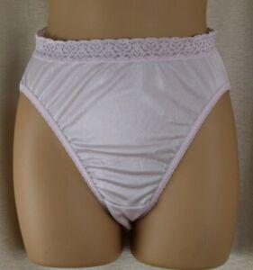 Fruit of the Loom Pink High Leg Brief Panties Size 6 Vtg