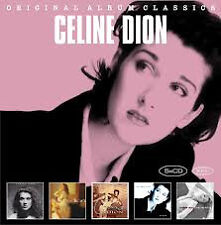 CELINE DION 5CD NEW Unison/Celine Dion/The Colour Of My Love/D'Eux/One Heart