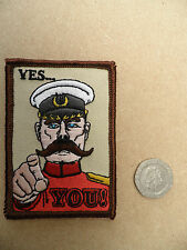 Lord Kitchener 'Yes You', army type morale patch. Osprey / UBACS etc.