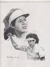 NANCY LOPEZ 1995 SPORTRAIT BY FRANK NAREAU