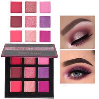 9 Color Shimmer Glitter EyeShadow Powder Palette Matte Eyeshadow Cosmetic Makeup