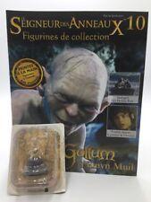 figurine plomb le seigneur des anneaux n10/180 gollum + fascicule eaglemoss